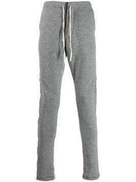 Greg Lauren side stripe track pants - Grey