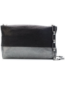 Laura B Baguette clutch - Black