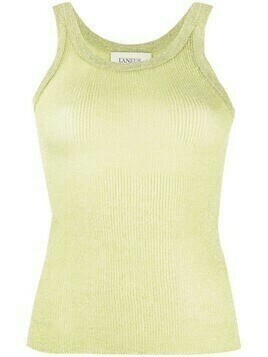 Laneus ribbed tank top - Green
