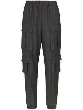 Prada utility wool trousers - Grey