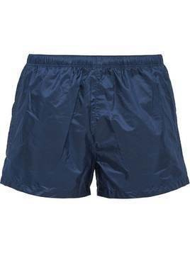 Prada Nylon swim shorts - Blue
