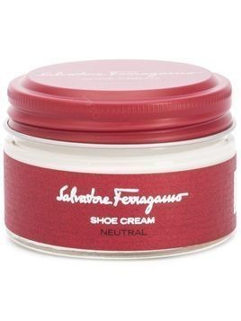 Salvatore Ferragamo Neutral shoe cream - White