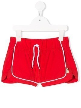 The Marc Jacobs Kids piped mini shorts - Red
