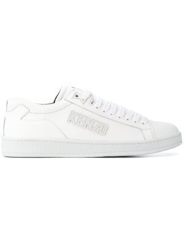 Kenzo low top logo sneakers - White