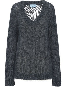 Prada Mohair and wool sweater - Grey