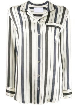 Asceno oversized striped shirt - Neutrals