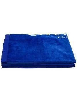 Givenchy logo towel - Blue