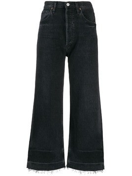 Citizens Of Humanity flared cropped jeans - Black