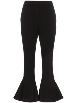 Beaufille kick flare trousers - Black
