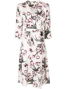 Goat Glenda printed dress - White