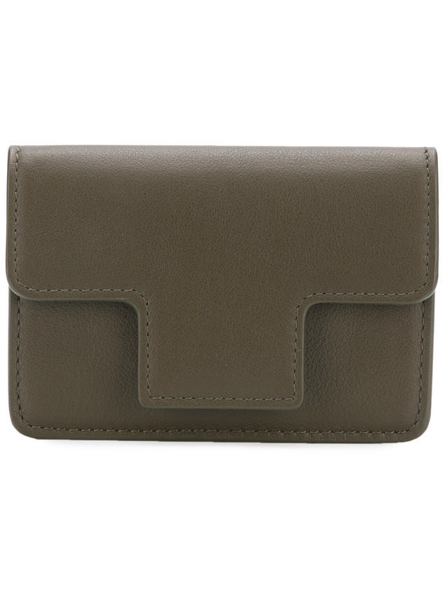 Tom Ford accordion-style card holder - Green