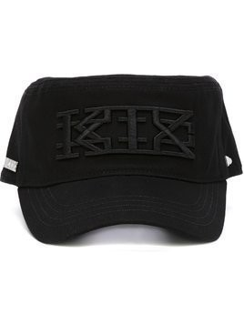 KTZ KTZ x New Era embroidered logo military cap - Black