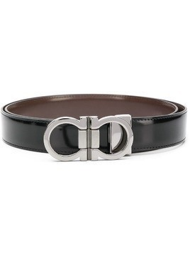 Salvatore Ferragamo Gancini belt - Black