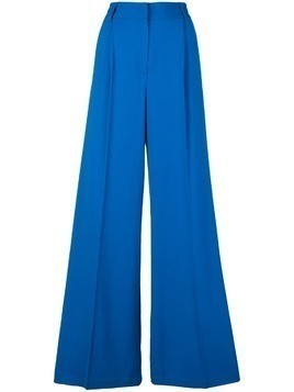 MSGM side striped trousers - Blue