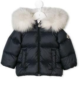 Moncler Kids padded coat - Blue