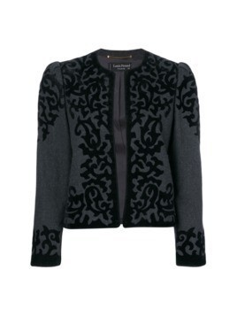Louis Feraud Pre-Owned baroque jacket - Grey