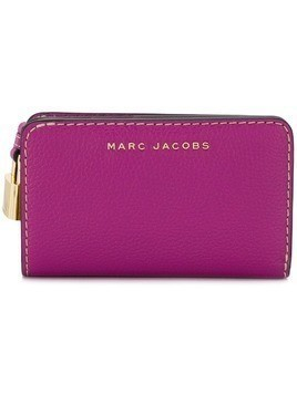 Marc Jacobs The Grind compact continental wallet - Pink & Purple