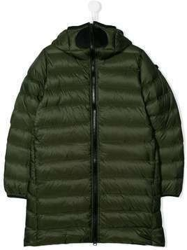 AI Riders on the Storm zipped padded jacket - Green
