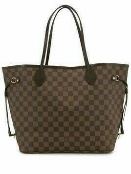 Louis Vuitton 2011 pre-owned Neverfull MM tote bag - Brown