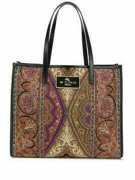 Etro paisley-print tote bag - Red