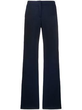 Akris Punto side stripe wide-leg trousers - Blue