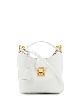 Mark Cross Murphy mini bucket bag - White