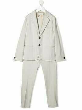 Paolo Pecora Kids two-piece single-breasted suit - Neutrals