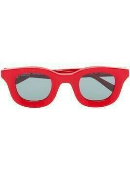 Thierry Lasry x Rhude Rhodeo 657 square-frame sunglasses - Red