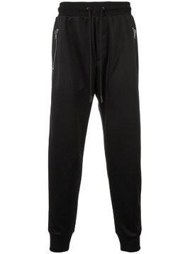 Coach drawstring-waist track pants - Black