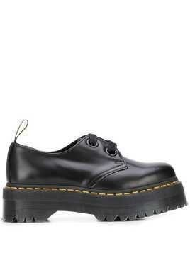 Dr. Martens Holly platform lace-up shoes - Black