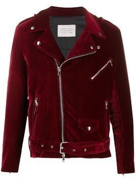Route Des Garden biker jacket - Red