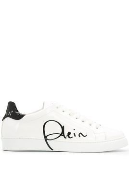 Philipp Plein signature low-top sneakers - White