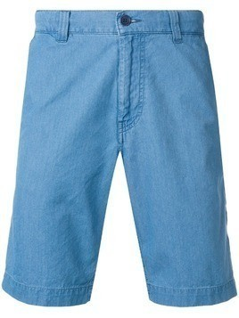 Aspesi ber chambray shorts - Blue