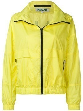 Kenzo cropped windbreaker jacket - Yellow