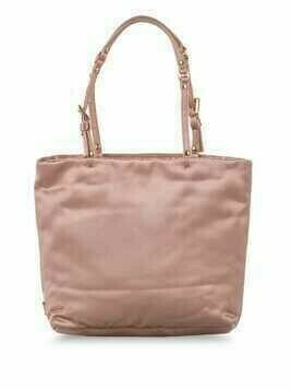 Prada Pre-Owned square-shaped tote bag - PINK