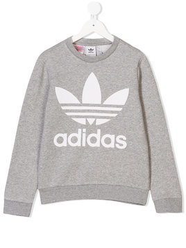 Adidas Kids printed sweatshirt - Grey