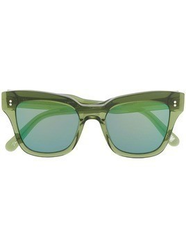 Chimi Mirror sunglasses - Green