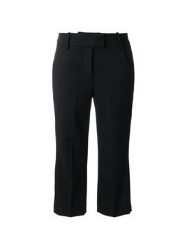 Dondup cropped trousers - Black