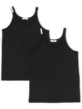 Dolce & Gabbana Kids 2 pack tank top - Black