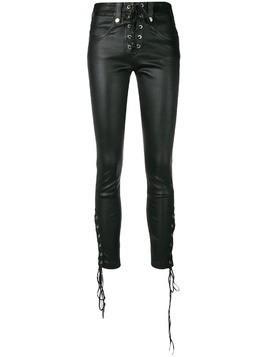Manokhi lace-up leggings - Black