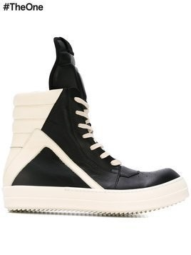 Rick Owens 'Geobasket' hi-top sneakers - Black