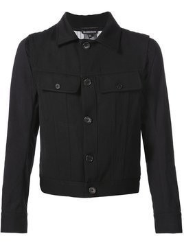 Ann Demeulemeester chest pocket jacket - Black