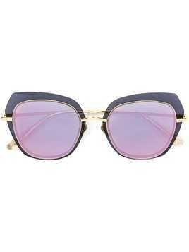 Bolon oversized frame sunglasses - Gold