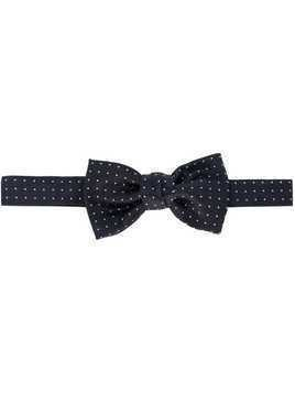 Lanvin classic patterned bow-tie - Blue