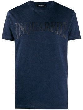 Dsquared2 logo printed T-shirt - Blue