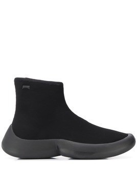 Camper Lab minimal slip-on boots - Black