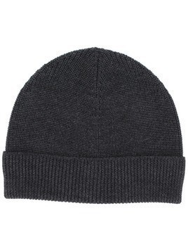 Barena ribbed beanie hat - Grey