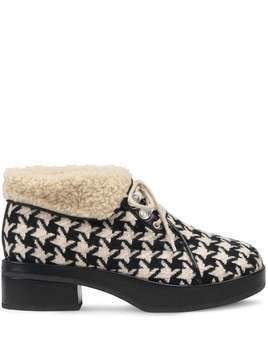 Gucci Houndstooth bootie - Black