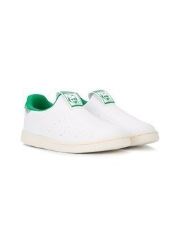 Adidas Kids Stan Smith slip-on sneakers - White