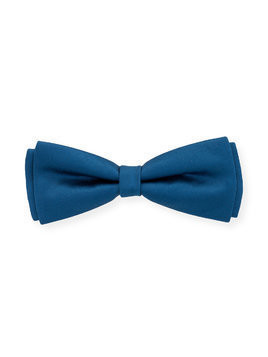 Hucklebones London bow hairclip - Blue